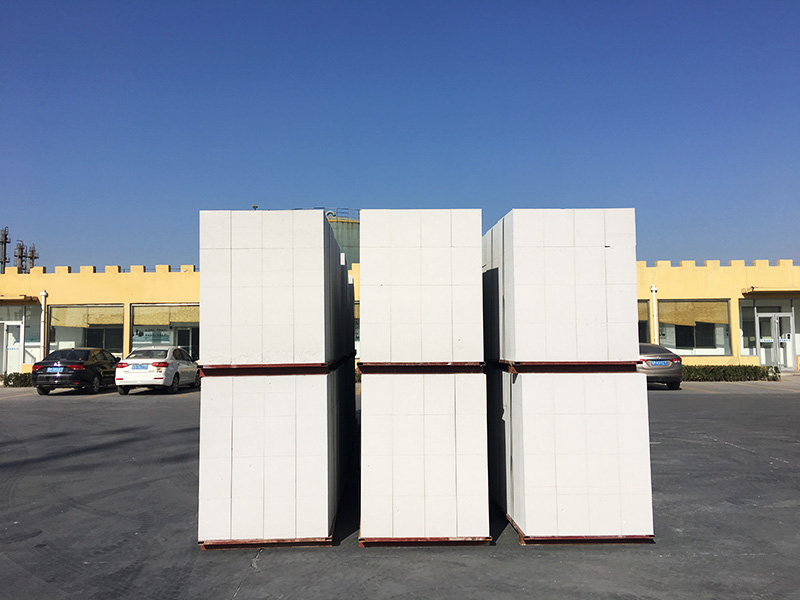 Autoclaved aerated concrete block AAC (ALC)